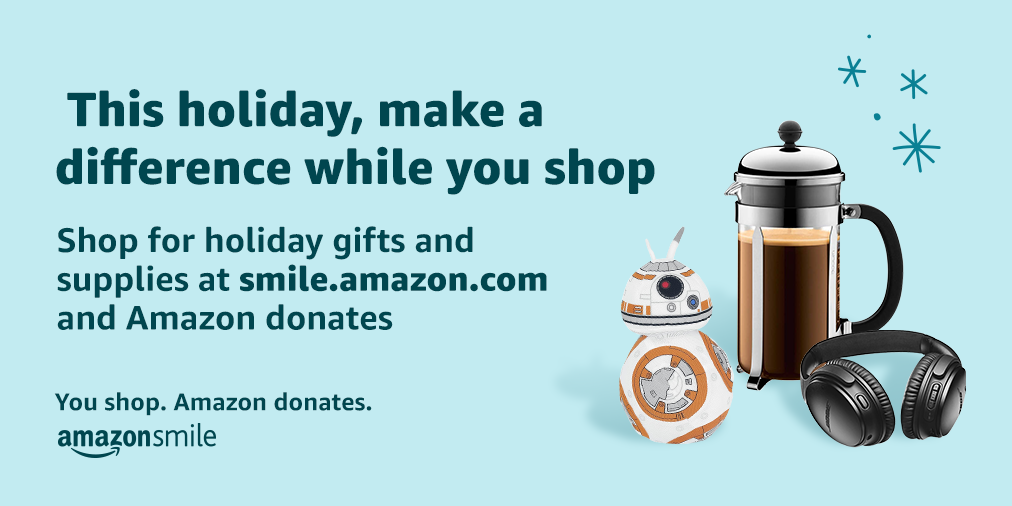 Looking for more ways to support your local church? Shop Amazon Smile and select New Vision Fellowship Free Methodist Church as your charity of choice!